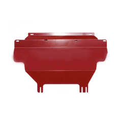 Red Underbody Bash Plate to suit Nissan Navara NP300 D23